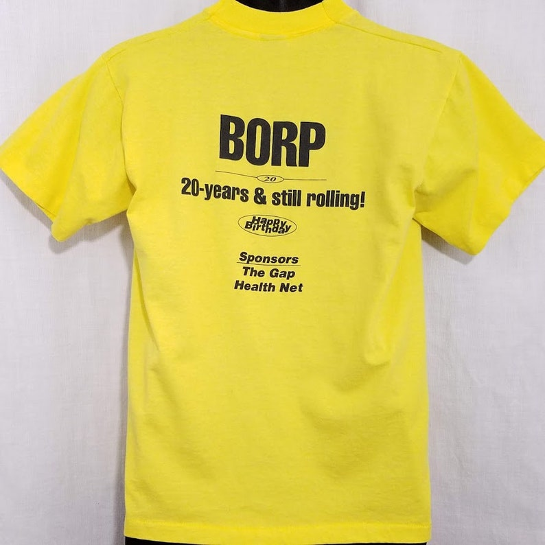 32a425c9a4c0d Wheelchair Sports T Shirt Vintage 90s BORP Bay Area Outreach & Recreation  Program Adaptive Disabled Made In USA Mens Size Medium