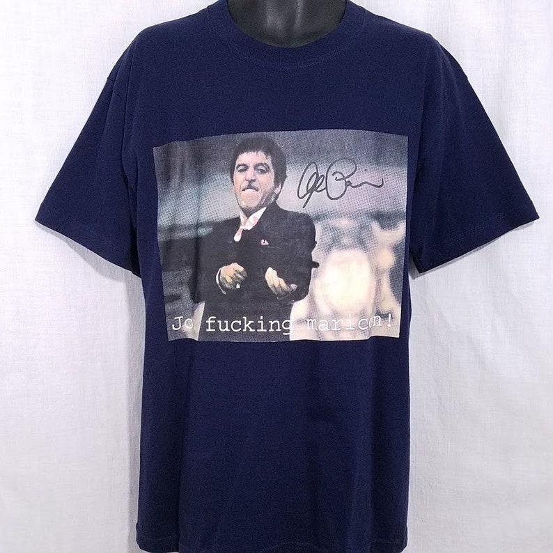 6beb54631 Scarface T Shirt Vintage 90s Tony Montana Al Pacino Mericon | Etsy