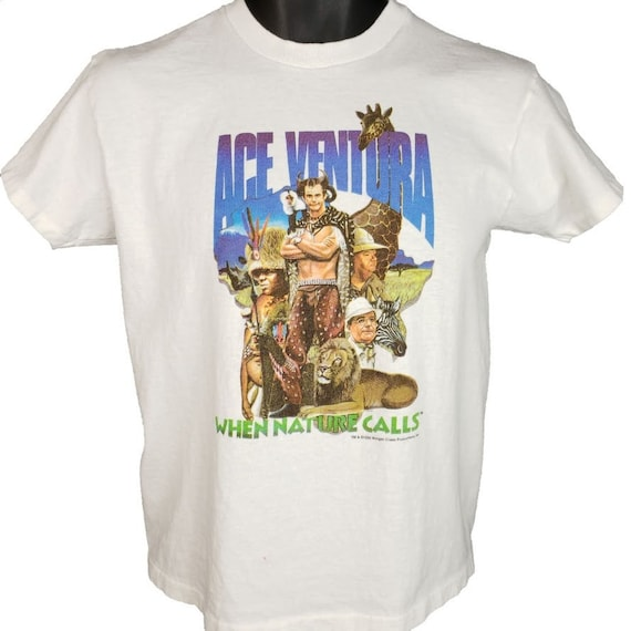 Ace Ventura T Shirt Vintage 90s When Nature Calls