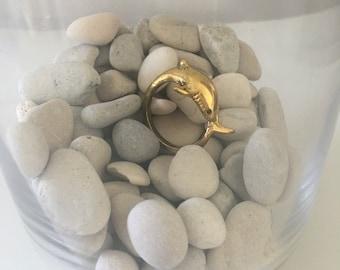 Gold Shark Ring