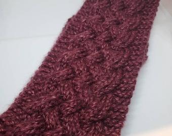 Knit Earwarmer, Earwarmer, Women's Headband, Knit Headband for Women, Knit Headwarmer, Gifts for Her, Gift for Women, Skiier Gifts