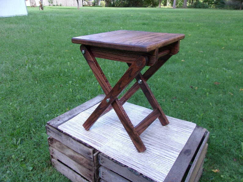 Super Hardwood Folding Stool Collapsible Stool Folding Table End Table Side Table Guitar Stool Squirreltailoven Fun Painted Chair Ideas Images Squirreltailovenorg