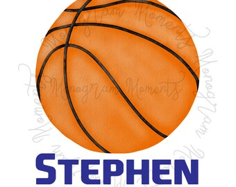 picture regarding Printable Basketball named Basketball printable Etsy