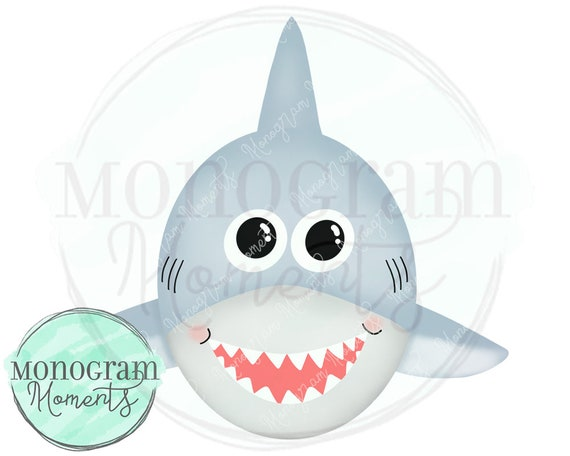 Clipart Shark Parties and Printables Digital Download Commercial Use for Crafts DIY Watercolor PNG Shark shirts Sublimation Design