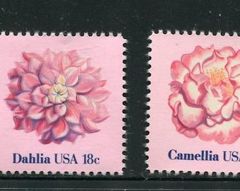 Flower Blooms Stamp Bullet Journal Camellia flower Floral Rubber Stamp Petal Bloom Leaves Camellia Clear Transparent Stamp