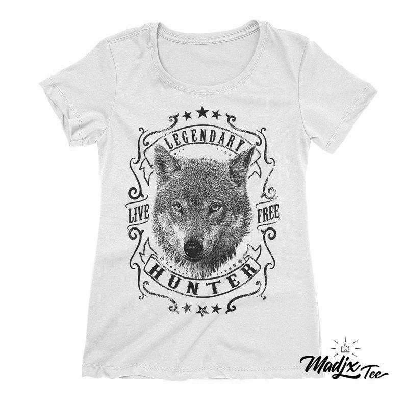 bb0884400 Legendary-live-free-hunter-t-shirt Wolfgang wolfpack | Etsy