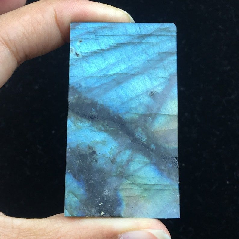 18 TOP!high quality Natural colorful labradorite Crystal pendant specimen Crystal healing