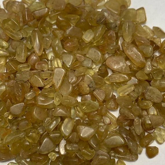 100g NATURAL Blue Apatite Quartz Crystal Chip Healing Reiki Stones Tumbled Bulk