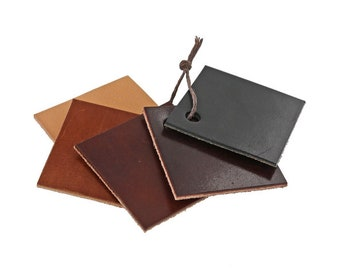 Custom Wallet / Horween Bi-Fold Wallet / Handmade Brown Wallet / Handmade Black Wallet / Front Pocket Wallet / Card Holder / Handsewn / USA