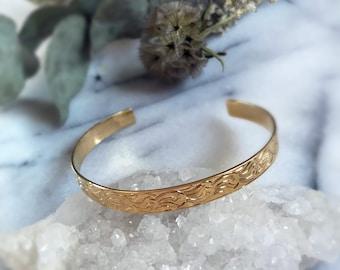 Golden Brass Bracelet The FoxTrot