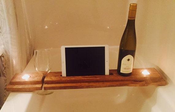 Bath Table Bath Tray Bathtub tablet holder Bath Caddy | Etsy