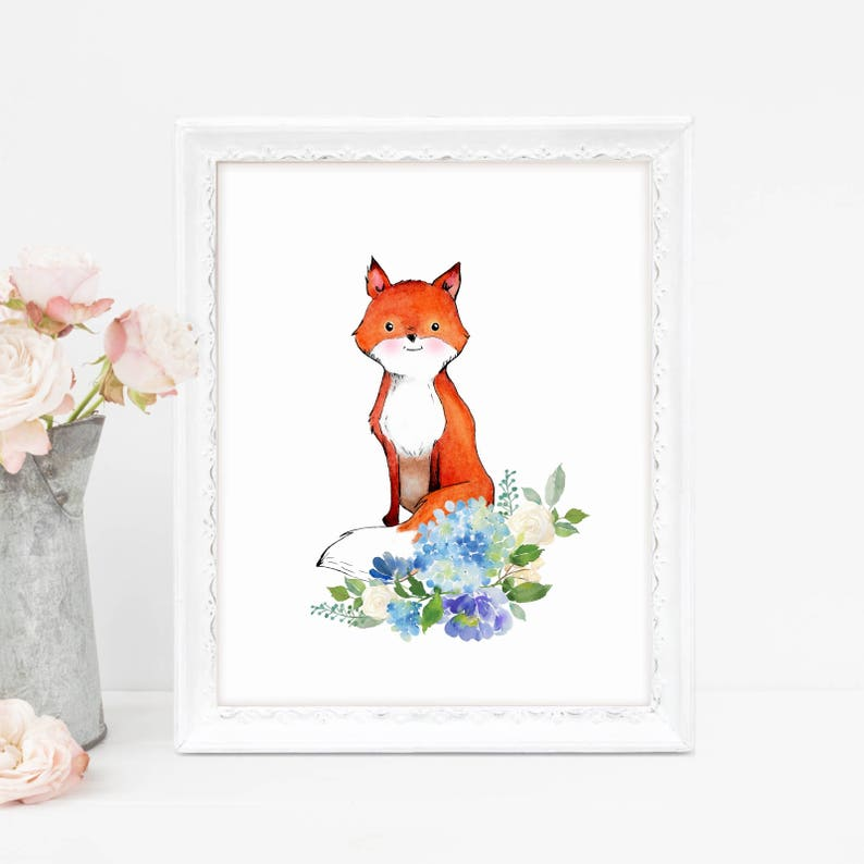 picture relating to Fox Printable identified as Printable Fox Little one, Fox Animal Wall Artwork, Fox Printable Kid, Forest Decor Nursery, Shabby Stylish, In excess of Crib Artwork, Pink Fox, Printable Artwork, Reward
