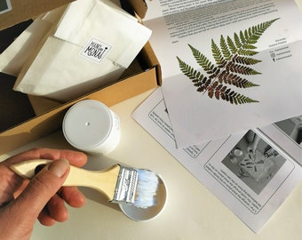 Botanical paper making tutorial - DIY kit when you have your own pressed flowers and plants