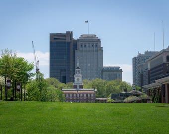 Independence Hall: Philadelphia Urban Photography Wall Art Decoration