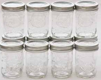 8oz soy mason jar candles