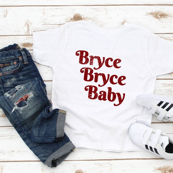 sports shoes 8ade1 80591 Bryce Harper, Bryce Bryce Baby, Phillies Toddler Shirt, Philadelphia  Phillies Kids Shirt, Short Sleeve Tee