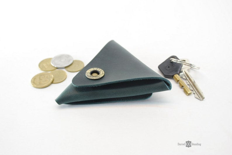 Leather coin purse  Small gifts Coin pouch Coin holder image 0