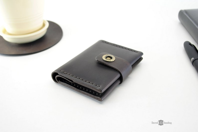 Small leather wallet for womens  Wallet for girls Small image 0