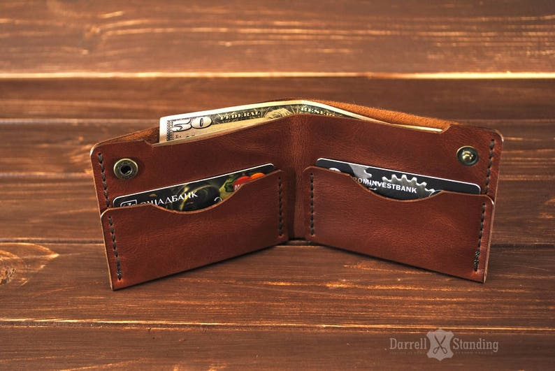a237420b5071 Mens leather wallets   Simple wallet for men   Small leather
