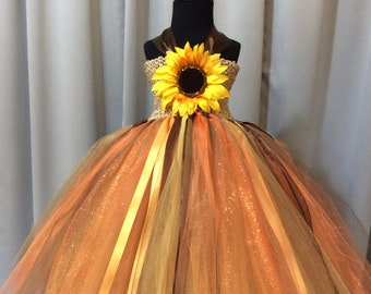 66e14a9dea8 Sunflower tutu dress
