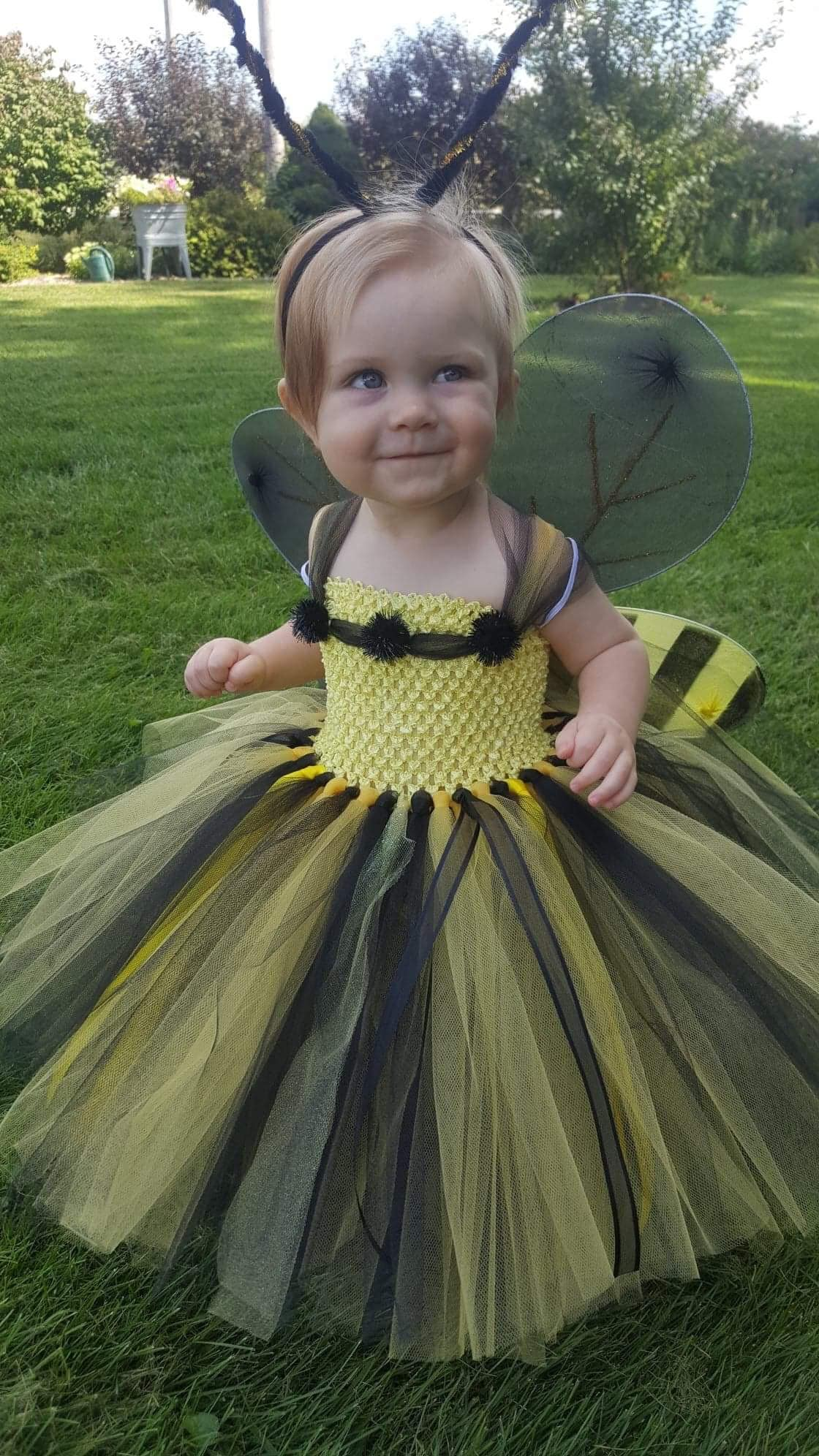 Bumble Bee Costume Bumble Bee Tutu With Wings And Headband Bumble