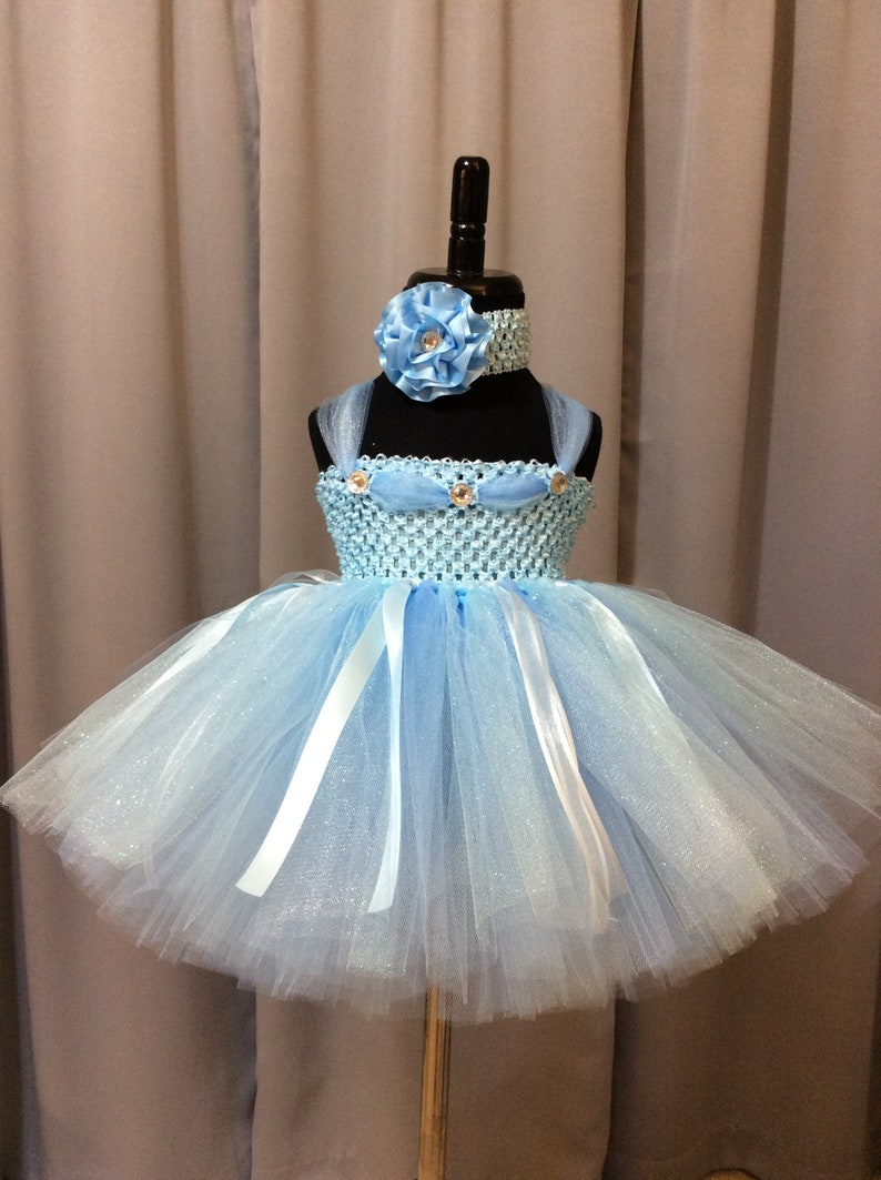 71368d3e8676c Light blue princess tutu dress infant tutu little girl tutu | Etsy