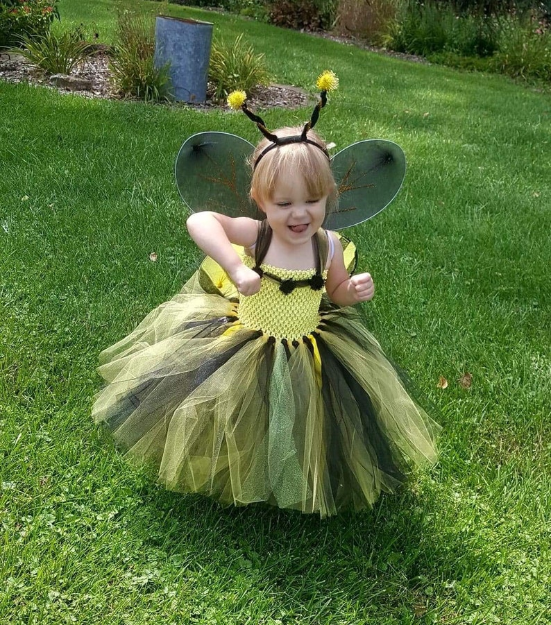 bumble bee tutu bumble bee halloween costume for girls infants toddlers bumble bee tutu with wings and headband Bumble Bee costume
