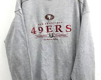 Vintage San Francisco 49ers NFL Football Sweatshirt Rare 49ers Starter  Jacket Big sz Jacket sz X Large 985dfcb29