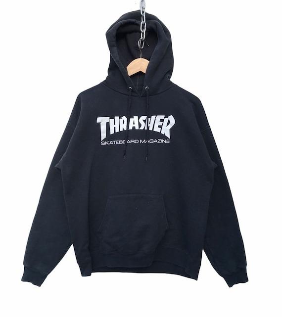 Thrasher Hoodie vintage Thrasher Skateboard Magazi