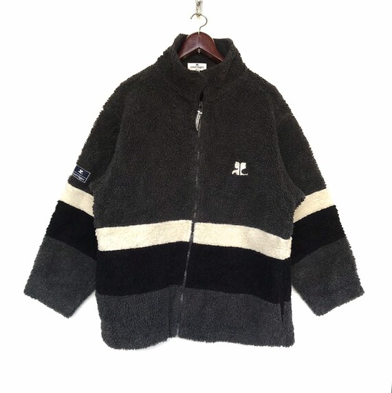 Courreges Paris Sweater Rare Vintage Courreges She