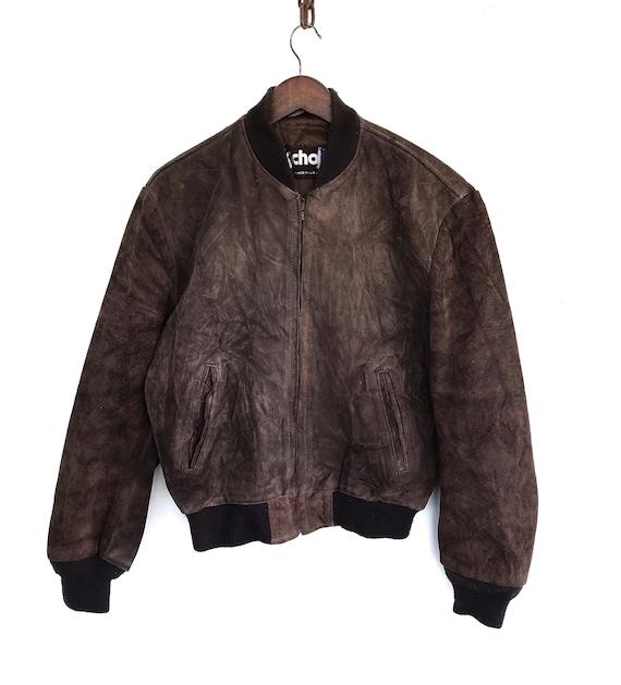 Vintage Schott Usa Suede Jacket Schott Leather Jac