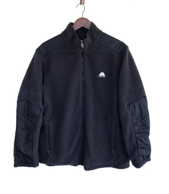 Nike Acg Riversible Sweater Vintage Nike Swoosh Sw