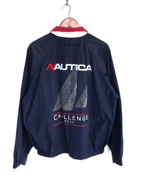 Nautica Jacket Vintage Nautica Challenge Jacket Sa