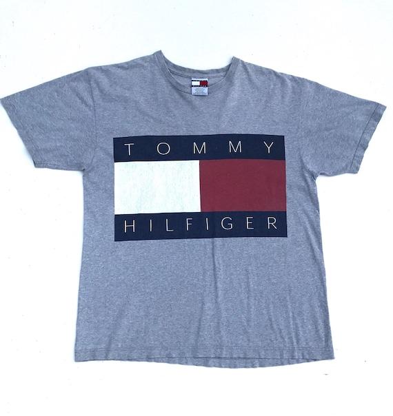 Tommy Hilfiger Shirt Vintage Tommy Big Logo Tee To
