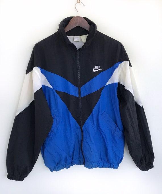 Vintage Nike Sweater Rare Nike Swoosh Windbreaker