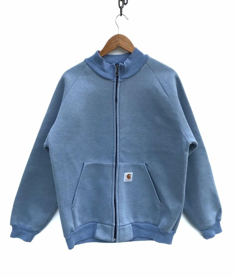 outlet cheapest official Carhartt Jacket 90s Jacket Carhartt Usa Streetwear Jacket Grunge Vintage  Carhartt Zipper Sweater Retro Hipster Sz L
