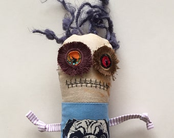 Monster Doll-Voodoo Doll-Rag Doll-Pincushion Doll