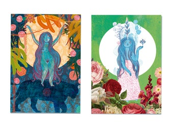 Goddess Illustrations