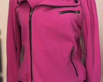 Hot pink/black Hellz Bellz hoodie
