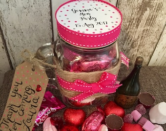 Hen Party Favours Personalised - Nice Version - Hen Party Gift - Bachelorette