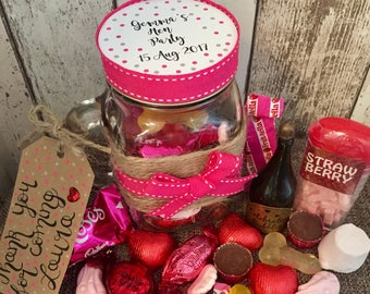Hen Party Favours Personalised - Naughty Version - Hen Party Gift - Bachelorette
