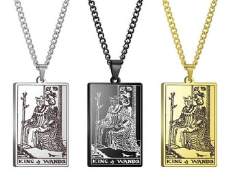 King of swords necklace-occult necklace-gothic necklace