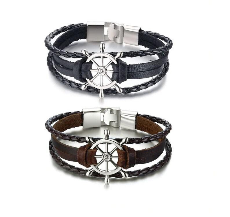 Wheel of Fortune braided bracelet.