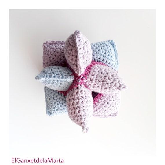 Pelota montessori de ganchillo puzzle amish para bebés y | Etsy