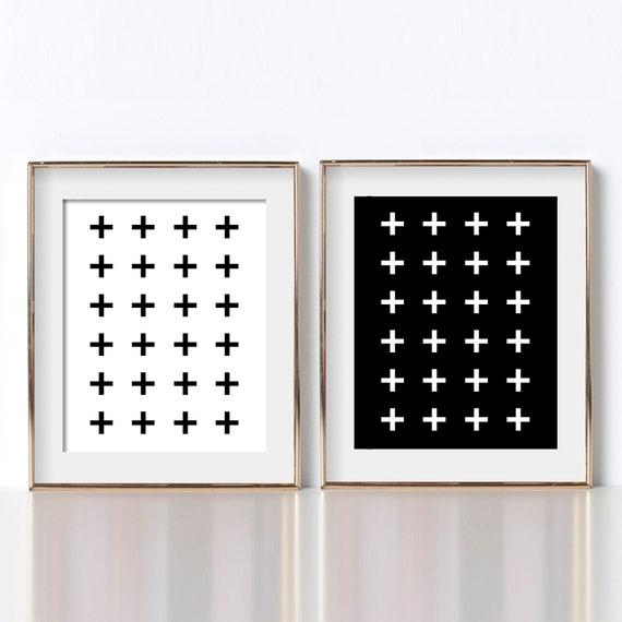Bathroom Poster Ideas Digital Download Prints Black