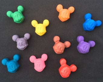 Mickey Mouse Crayons Favors 10-25 bags