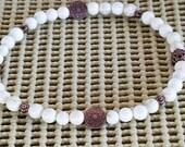 Handmade Anklet Beach Anklet Summer Anklet Anklet Bracelet Jewelry DYED HOWLITE Stone Gemstone Anklet Anklets for Womens Boho Yoga Anklet