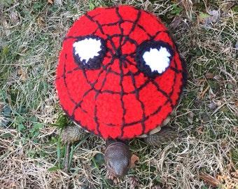 Super Hero Spiderman Turtle Topper Tortoise Cozy