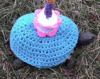 Happy Birthday  Turtle Topper Tortoise Cozy Love
