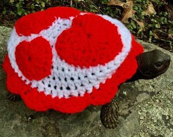 Sweetheart Turtle Topper Tortoise Cozy Love